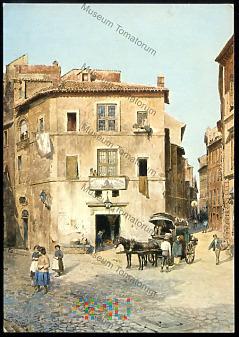 Roma - Albergo dell'Orso - Roesler Franz