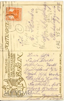 Klinger - Zaloty Centaurów - 1918