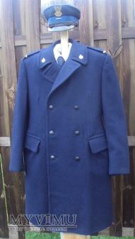 Płaszcz zimowy strażaka zawodowego z lat 1970-80