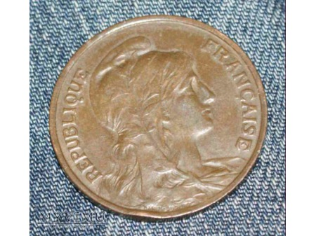 Duże zdjęcie Francja 10 centimes 1900