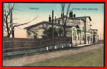 TRZEBINIA, Dworzec kolejowy