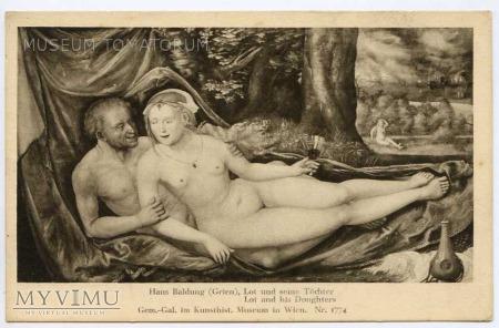 Hans Baldung - Lot z córką