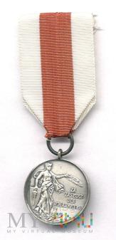 Medal za zasługi dla pożarnictwa-srebrny