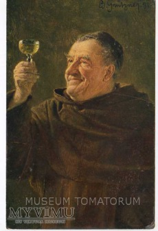 Duże zdjęcie Monk Friar Mönch capucin zakonnik - degustacja 5