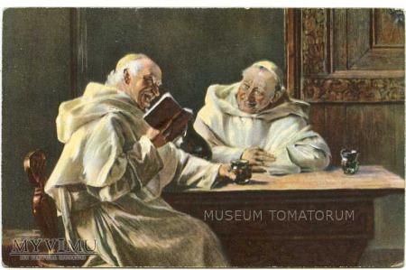 Monk Friar Mönch capucin zakonnik - miłe chwile 1
