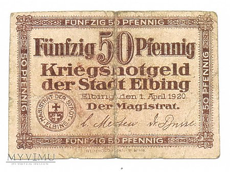 50 fenigów