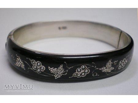 Duże zdjęcie żałobna bransoleta