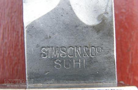 BAGNET S 98/05 Z PIŁĄ LIŚCIAK SIMSON & Co