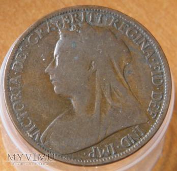1 Penny 1896 W. Brytania