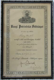 Akt nadania - Medalj för lĺngvarig Trogen Tjänst