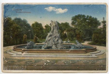 Duże zdjęcie Bydgoszcz - Fontanna Potop - początek XX wieku