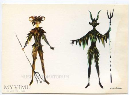 Szancer - Diabeł Leśny i Satyr Poświst