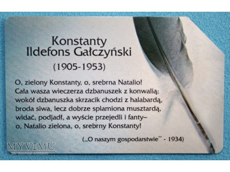 Konstanty Ildefons Gałczyński 1905-1953