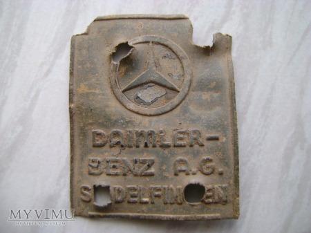 tabliczka Daimler Benz A.G.