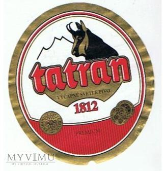 tatran 1812 výčapné svetlé pivo