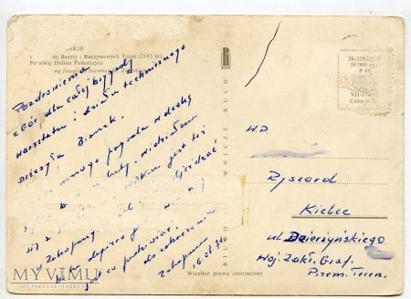 Tatry Orla Baszta i Buczynowe Turnie - 1969