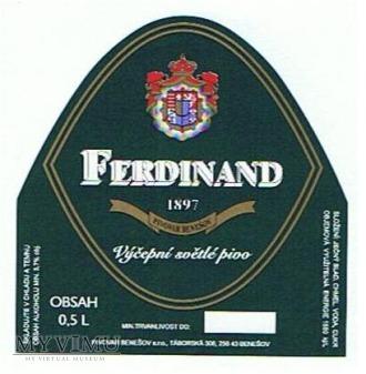 ferdinand výčepní světlé pivo