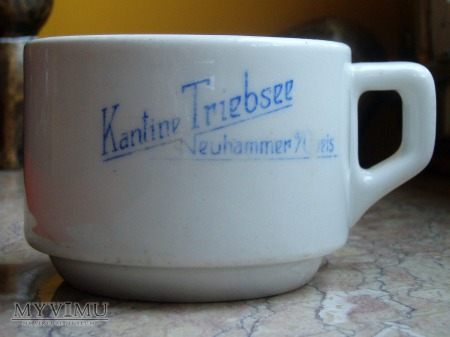 Filiżanka Kantine Triebsee, Neuhammer am Queis