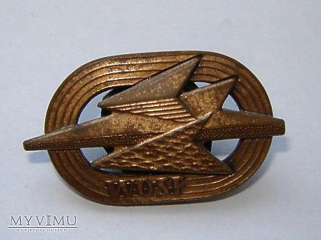 Wojskowa odznaka sprawności fizycznej - brązowa
