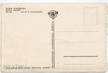 W-wa - Nowy Świat - 1950-te