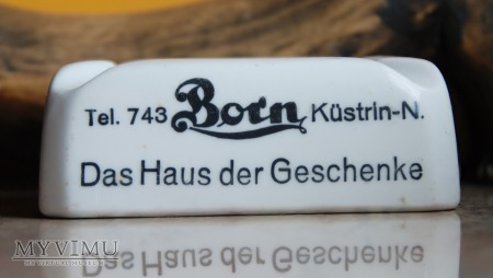 Popielniczka Born Kustrin