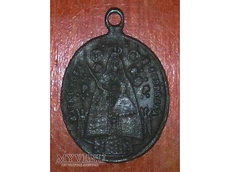 Stary medalik z MB Kodeńską nr.1