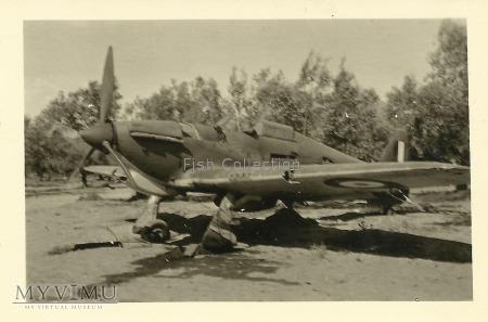 Brytyjski samolot Hawker Hurricane