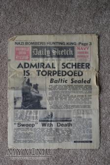 Daily Sketch (15 kwietnia 1940)