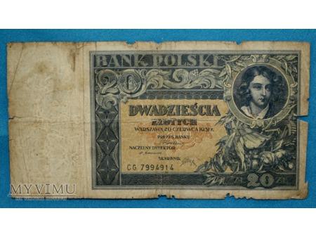 20 Złotych 1931