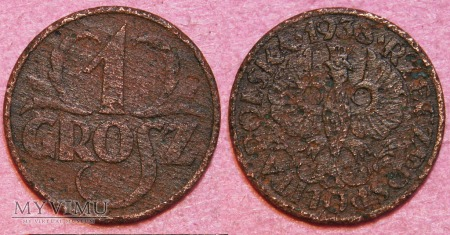 1938, 1 grosz