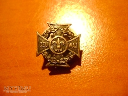 krzyż harcerski - miniaturka