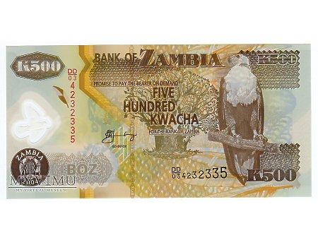 500 Kwacha 2004 r.