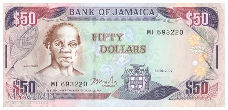 Jamajka - 50 dolarów (2007)