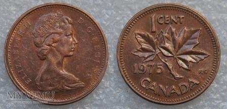 Kanada, 1 CENT 1975