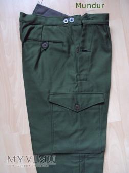Szwecja: mundur polowy m/70 kv spodnie