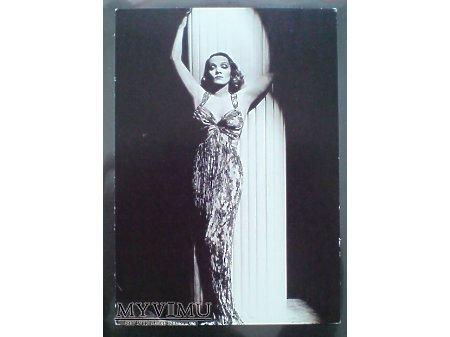 Marlene Dietrich Marlena foto pocztówka HURREL