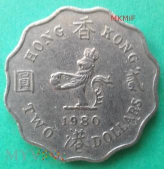 2 Dollars Hong Kong