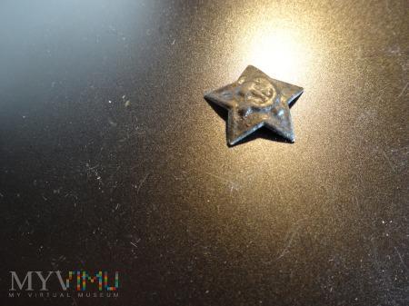 Gwiazda CCCP z nakrycia glowy - lata wojny