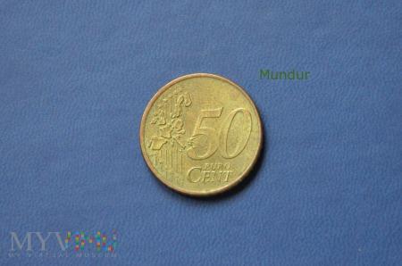 Moneta: 50 euro cent Holandia