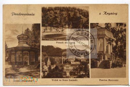 Krynica - Pozdrowienia - 1938