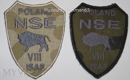 ISAF Afganistan VIII zm.NSE. 10 OBLog.