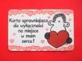 Karta- klucz do serca