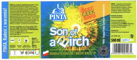 Pinta, Son of a Birch