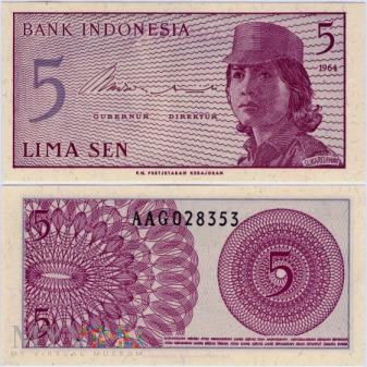 Indonezja, 5 SEN 1964r