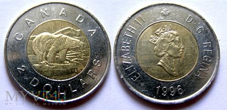 Kanada, 2 Dollars 1996