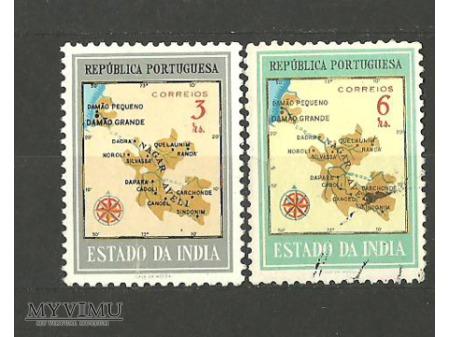 Portugalskie posiadłości w Indiach.