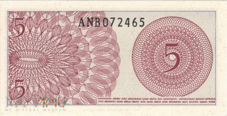 INDONEZJA 5 SEN 1964