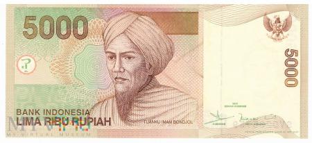 Duże zdjęcie Indonezja - 5 000 rupii (2007)