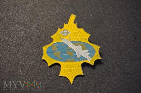 Odznaka Rezerwy - Ławica Jesień 83