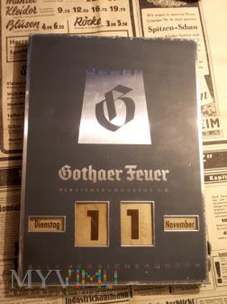Kalendarz Gothaer Feuer - Versicherungsbank AG